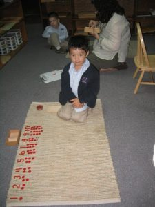 Learning Number Placement